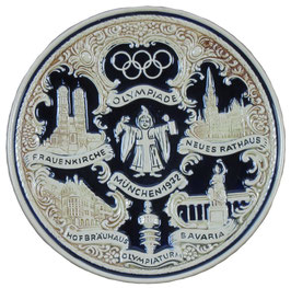 Munich 1972 Commemorative Ceramic Plate