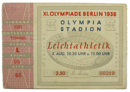 Ticket, Track and Field