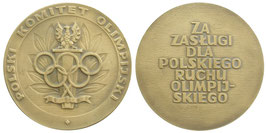 Poland Bronzemedal awarded by the polish NOC
