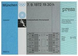 Press Ticket, Volleyball