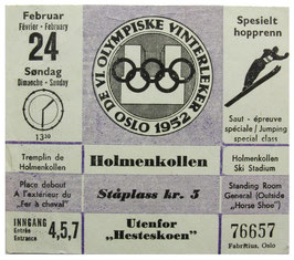 Ticket, Jumping Special Class