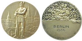 Berlin 1936 Participation Medal awarded to hungarian competitors