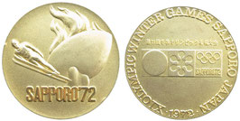 Sapporo 1972 Official Commemorative Medal