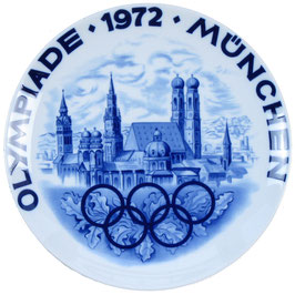 Munich 1972 Commemorative Porcelain Plate