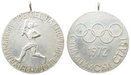 Munich 1972  Sovjet Commemorative Medal