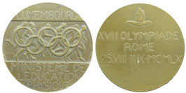 Rome 1960 Bronzemedal for Competitors  from Luxembourg