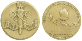 70 Years of the Polish NOC Poland 1989 Bronzemedal