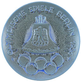 Berlin 1936 Commemorative Ceramic Plate