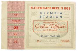 """Ticket Rehearsal """"Großes Festspiel"""""""