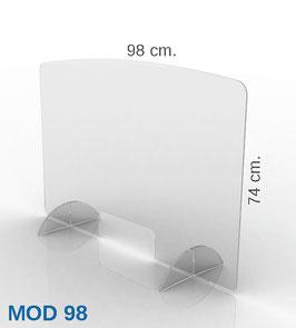 PARAFIATO MOD98 - 98xH74 cm.
