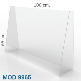 PARAFIATO MOD.9965 - L1000xH65xP25 cm.