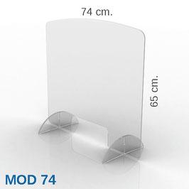 PARAFIATO MOD 74 - 74xH65 cm.