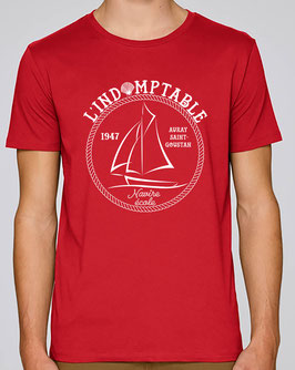 T-shirt Indomptable rouge