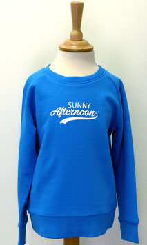 Sweat Garçon/Fille Sunny Afternoon bleu