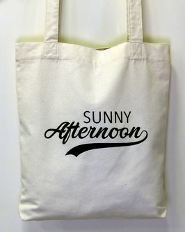Tote-bag ton naturel Sunny Afternoon