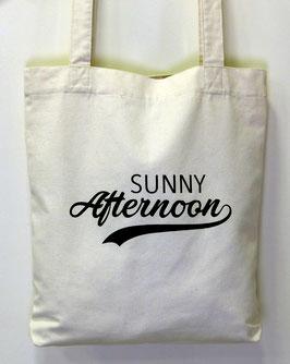 Tote-bag ton naturel Sunny Afternoon