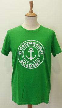 T-shirt Homme Academy vert