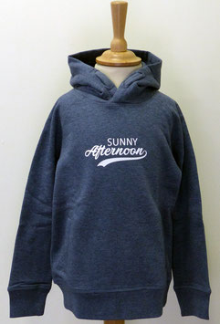 Sweat capuche Enfant Sunny Afternoon bleu gris