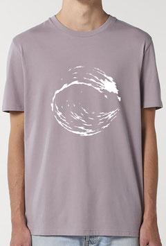 T-shirt Homme  Vague lilas