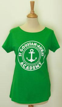 T-shirt Femme Academy vert