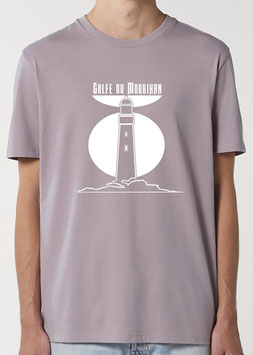 T-shirt Homme Phare lilas