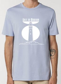 T-shirt Homme Phare bleu zen