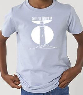 T-shirt Garçon Phare Bleu zen