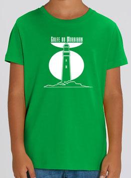 T-shirt Garçon Phare vert