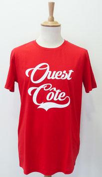 T-shirt Homme Ouest Côte rouge