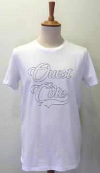T-shirt Homme Ouest Côte blanc