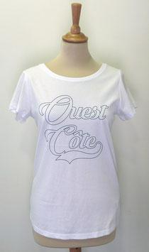 T-shirt Femme Ouest Côte blanc
