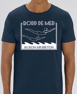 T-shirt Homme  Plongeurs bleu marine