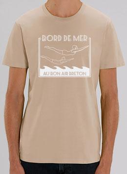 T-shirt Homme  Plongeurs sable