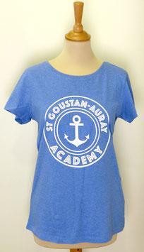 T-shirt Femme Academy bleu clair