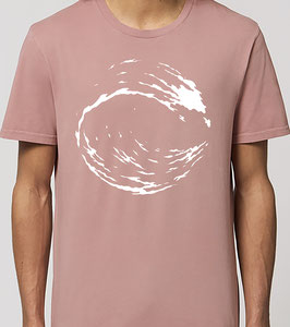 T-shirt Homme  Vague canyon pink