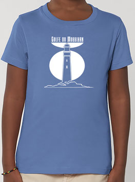 T-shirt Garçon Phare bright blue