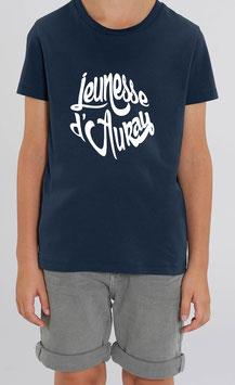 T-shirt Garçon Jeunesse d'Auray bleu marine