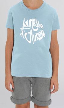 T-shirt Garçon Jeunesse d'Auray bleu clair