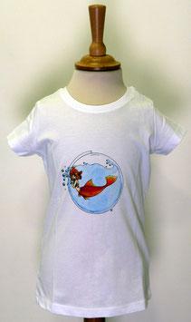 T-shirt Fille Sirène