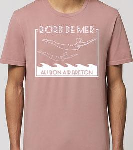 T-shirt Homme  Plongeurs canyon pink