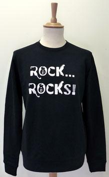 Sweat-shirt Homme/Femme Rock Rocks