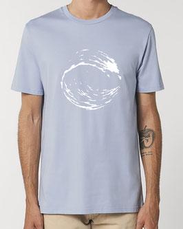 T-shirt Homme  Vague bleu zen
