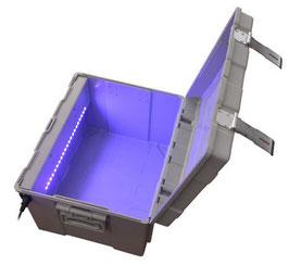 UV+Ozon Desinfektion Box, 470x370x220mm, abschliessbar mit Vorhängeschloss