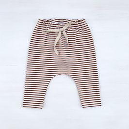 Simple Stripes Slim Harem | Rost