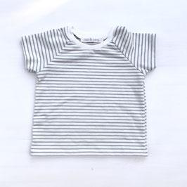 Basic T-Shirt Stripes | Stone