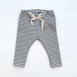 Simple Stripes Leggings | Schwarz