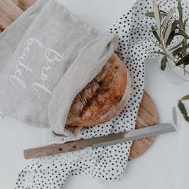 Eulenschnitt | Brotbeutel | Leinen