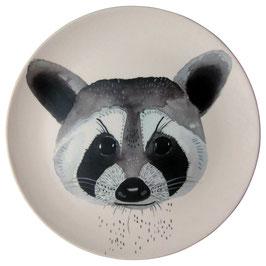 NUUKK | Bambus Teller| Waschbär