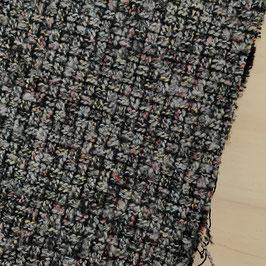 dicker Strick | schwarz/grau meliert