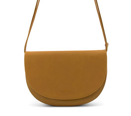 Monk & Anna // Soma half moon bag | honey